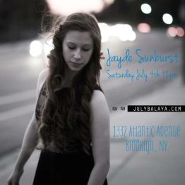 JaydeSunburst Poster